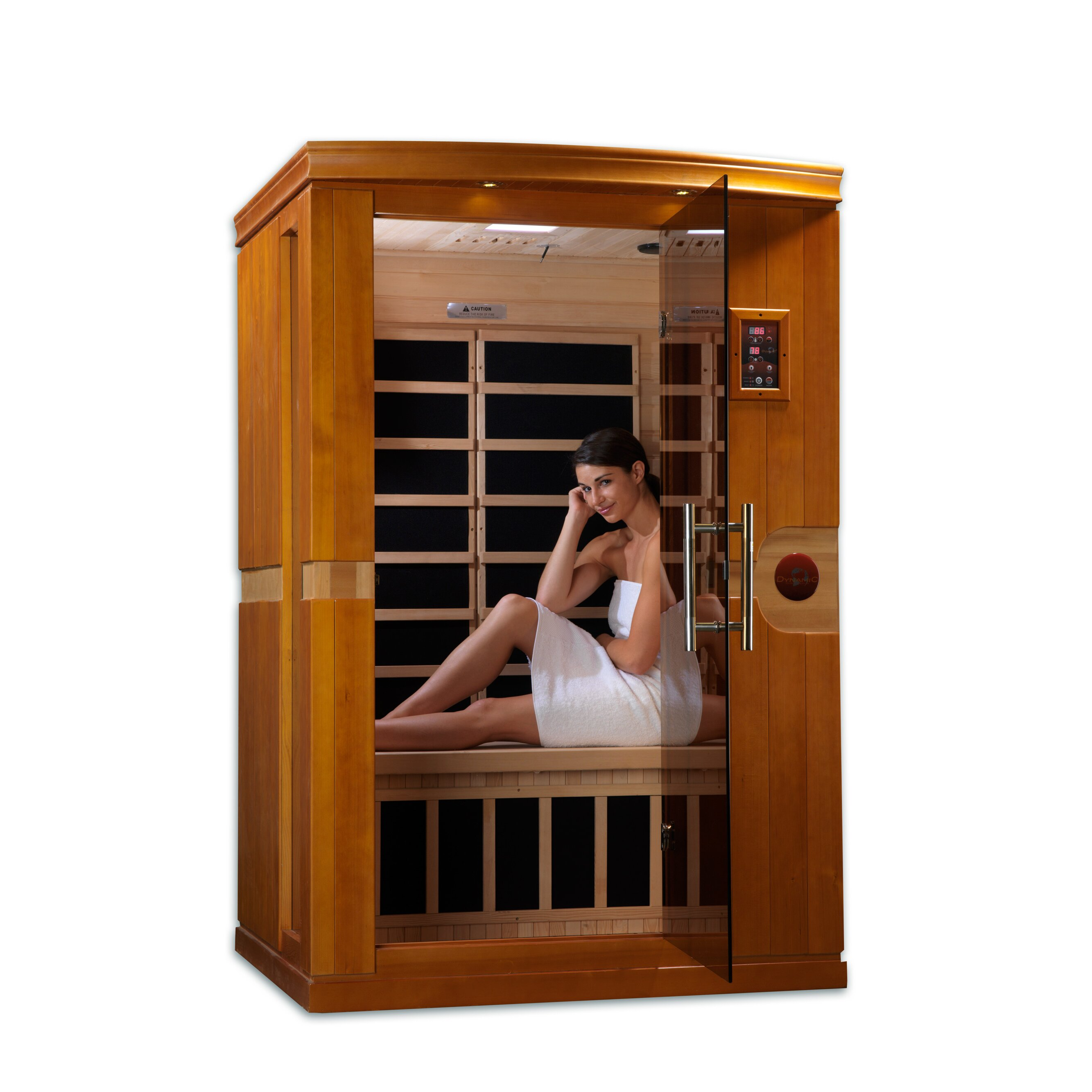 dynamic infrared venice 2 person far infrared sauna