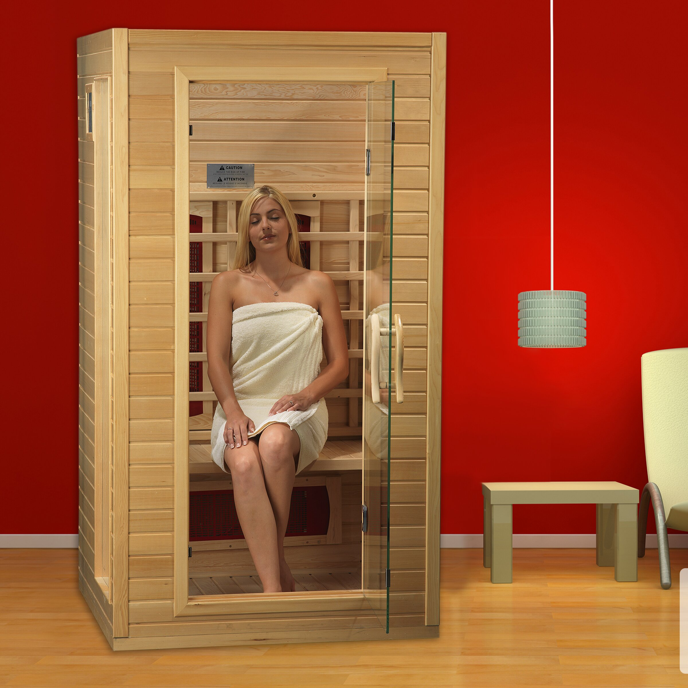 Dynamic Infrared 2 Person Ceramic Far Infrared Sauna