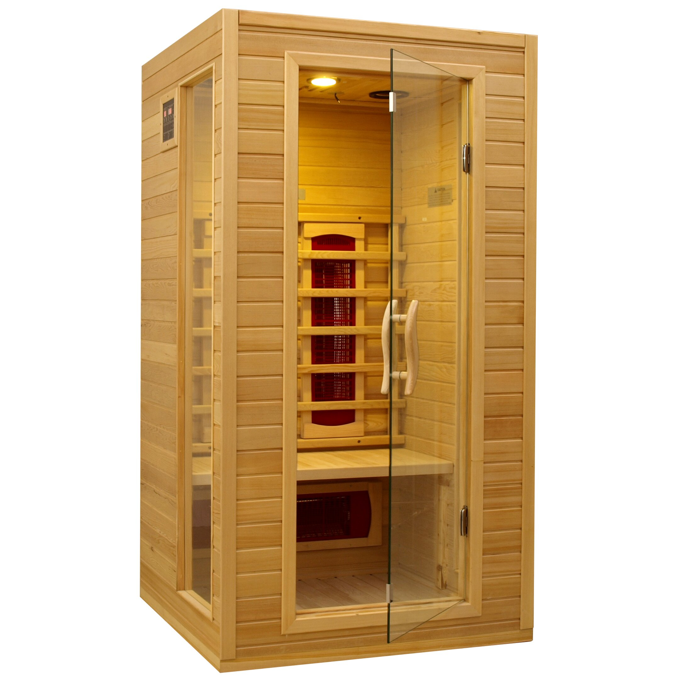 dynamic infrared 12 person ceramic far infrared sauna