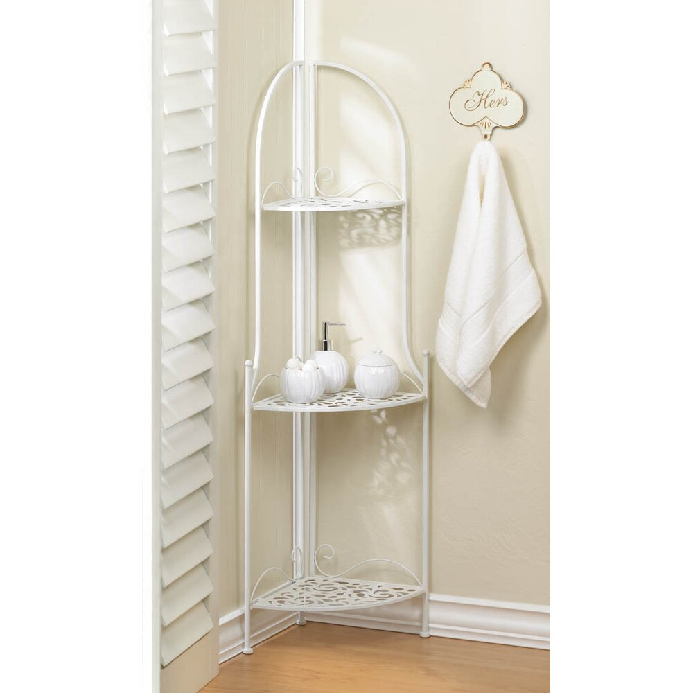Zingz Thingz Lace Free Standing Corner Shelf Reviews