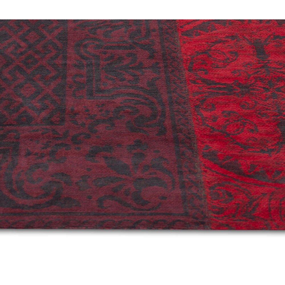 louis de poortere vintage red area rug wayfair uk. Black Bedroom Furniture Sets. Home Design Ideas