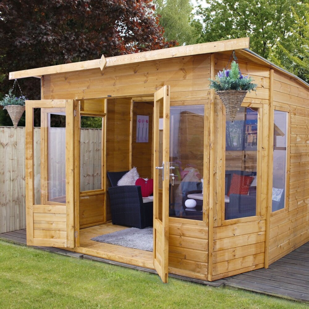 Mercia garden products helios 10 x 8 summerhouse reviews for 10 x 9 square feet