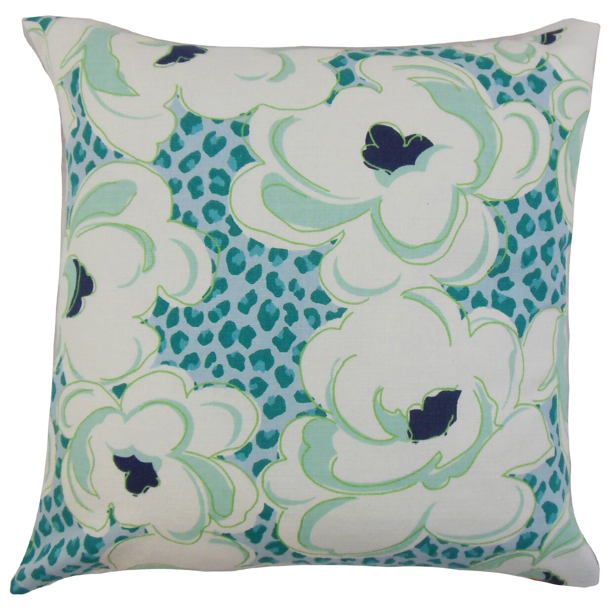 Wayfair Blue Decorative Pillows : The Pillow Collection Ohara Throw Pillow Wayfair.ca