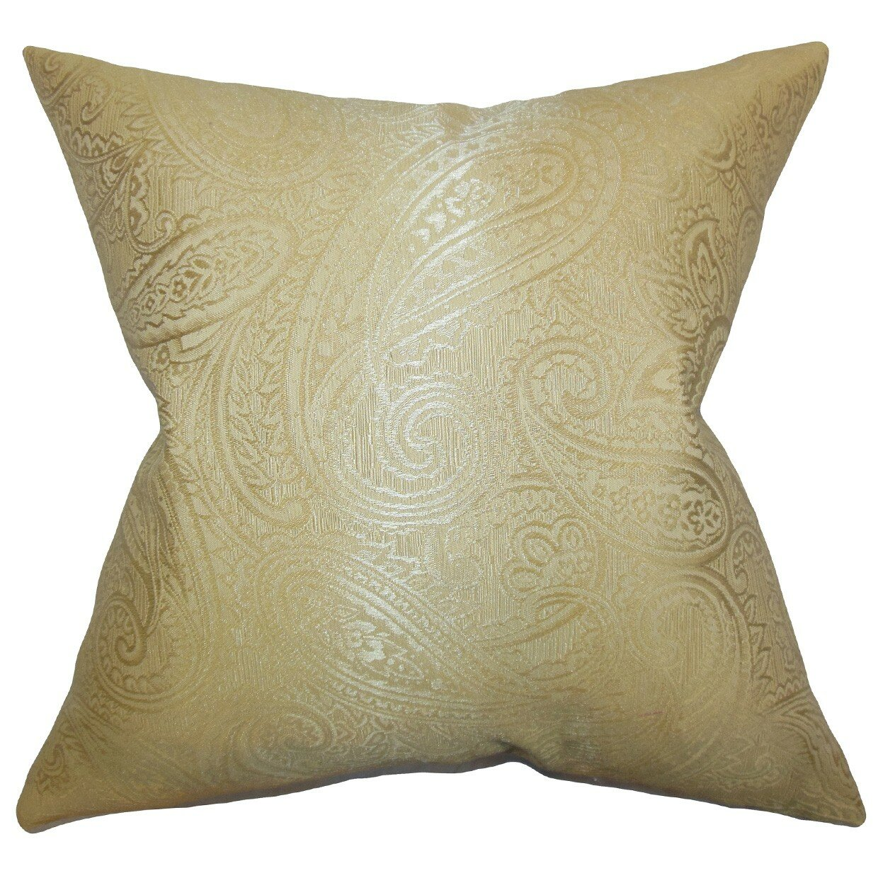 The Pillow Collection Cashel Paisley Throw Pillow & Reviews Wayfair