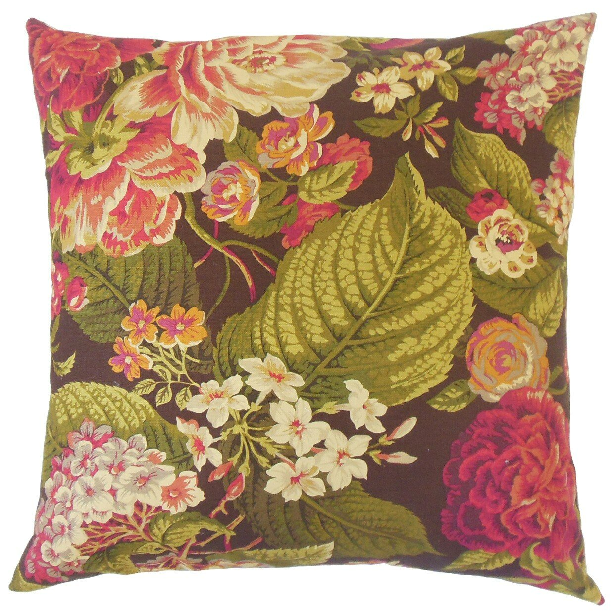 The Pillow Collection Kalonice Cotton Throw Pillow Wayfair