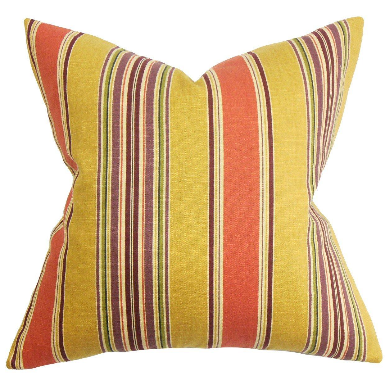 Classic Collections Decorative Pillow Set : The Pillow Collection Hollis Stripes Throw Pillow & Reviews Wayfair