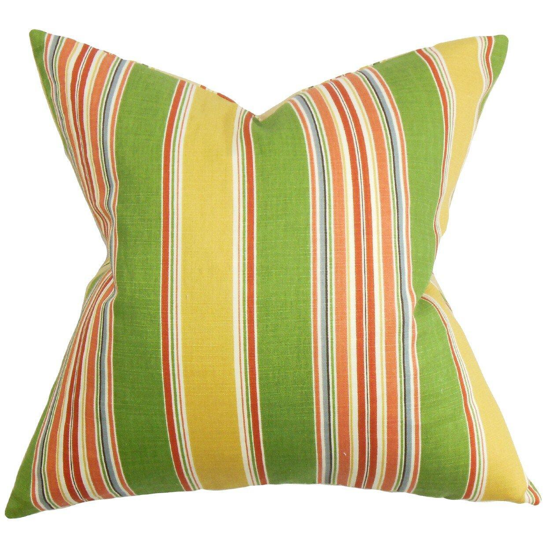 The Pillow Collection Hollis Stripes Throw Pillow & Reviews Wayfair