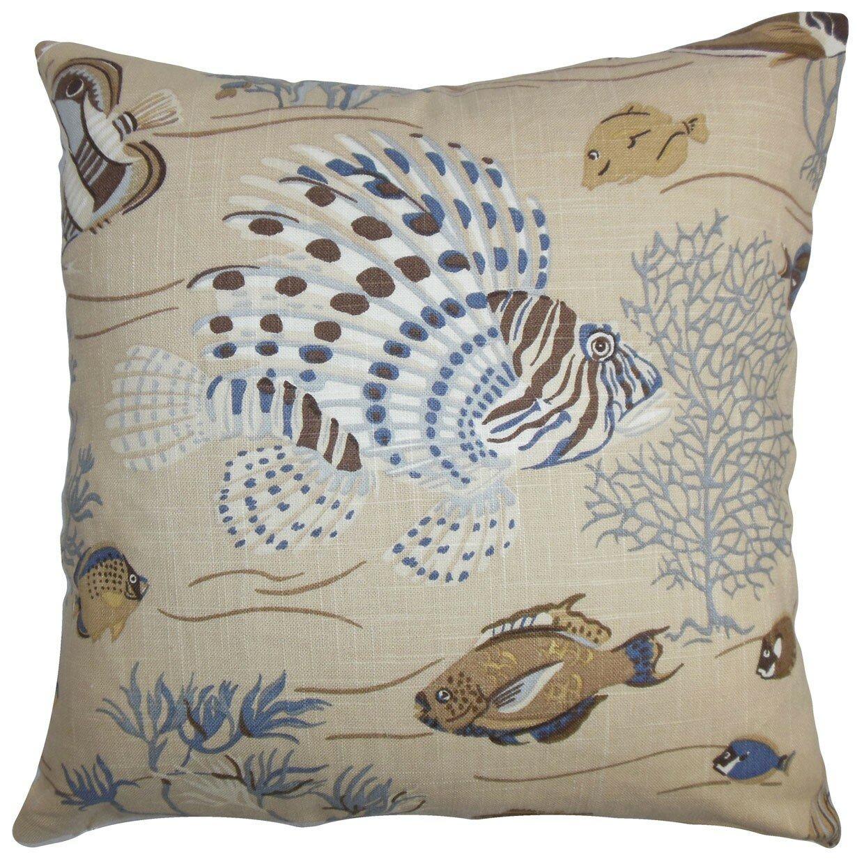 The Pillow Collection Niju Coastal Throw Pillow & Reviews Wayfair