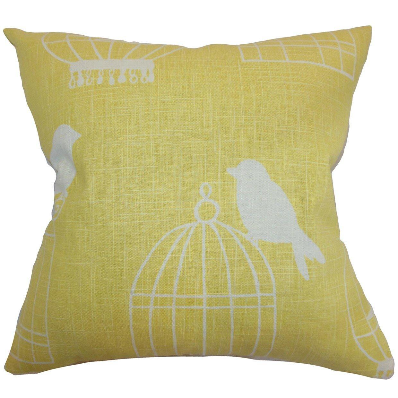The Pillow Collection Alconbury Birds Throw Pillow Cover & Reviews Wayfair