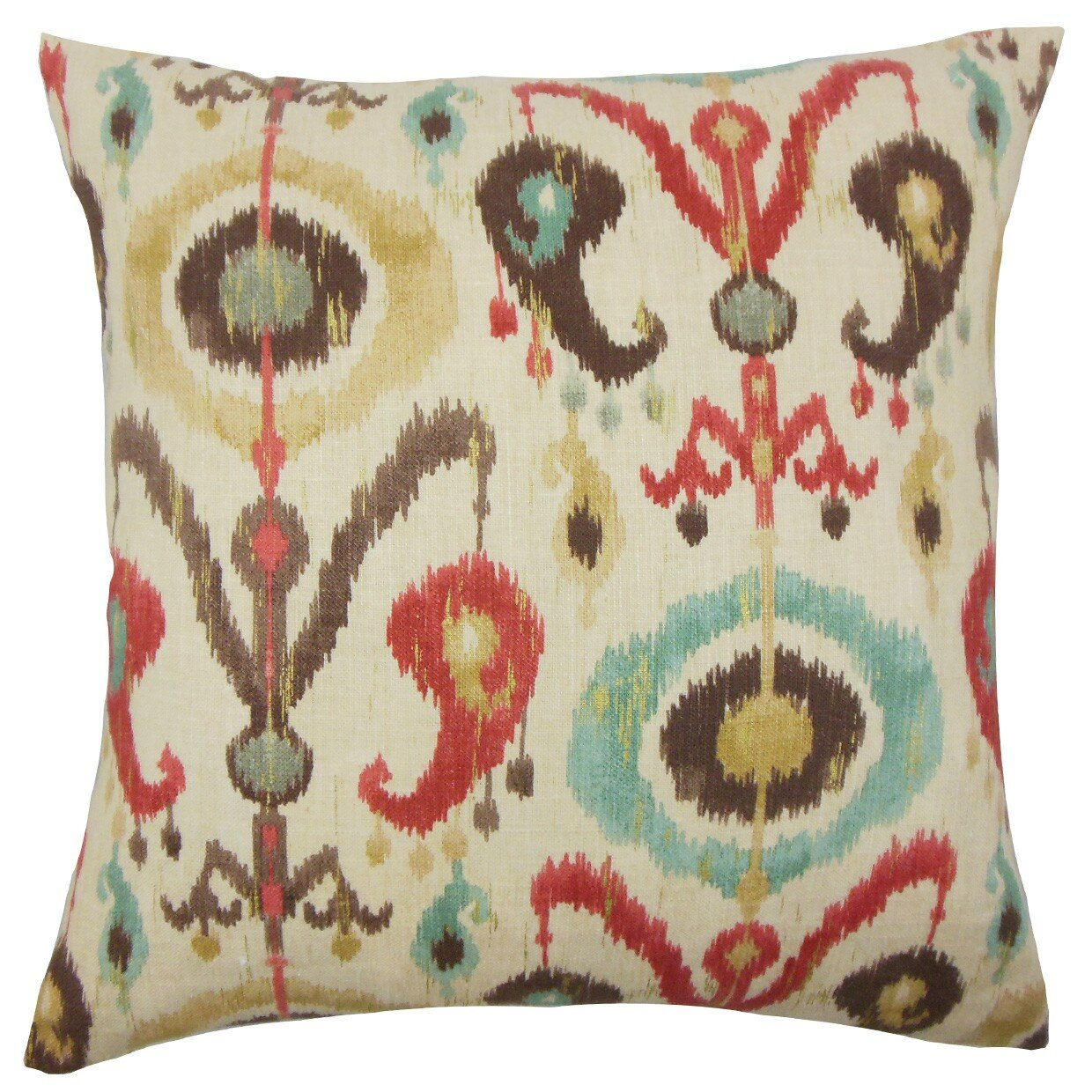 Wayfair Decorative Pillow Covers : The Pillow Collection Ikea Ikat Cotton Throw Pillow Cover & Reviews Wayfair.ca