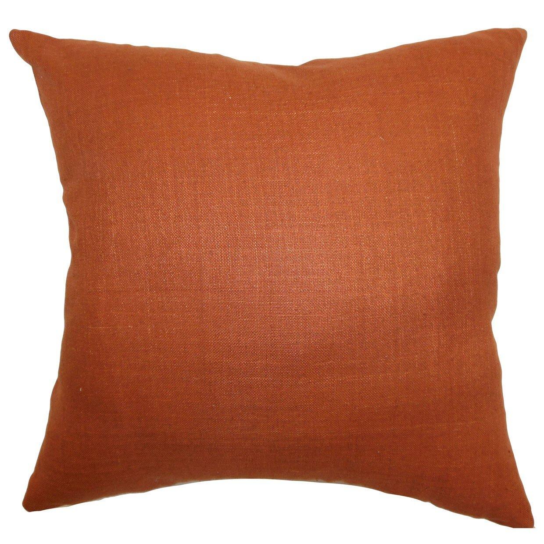 Throw Pillow Collections : The Pillow Collection Zaafira Plain Silk Throw Pillow & Reviews Wayfair