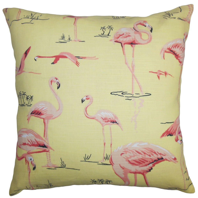 Throw Pillows With Wildlife : The Pillow Collection Qusay Animal Print Throw Pillow & Reviews Wayfair