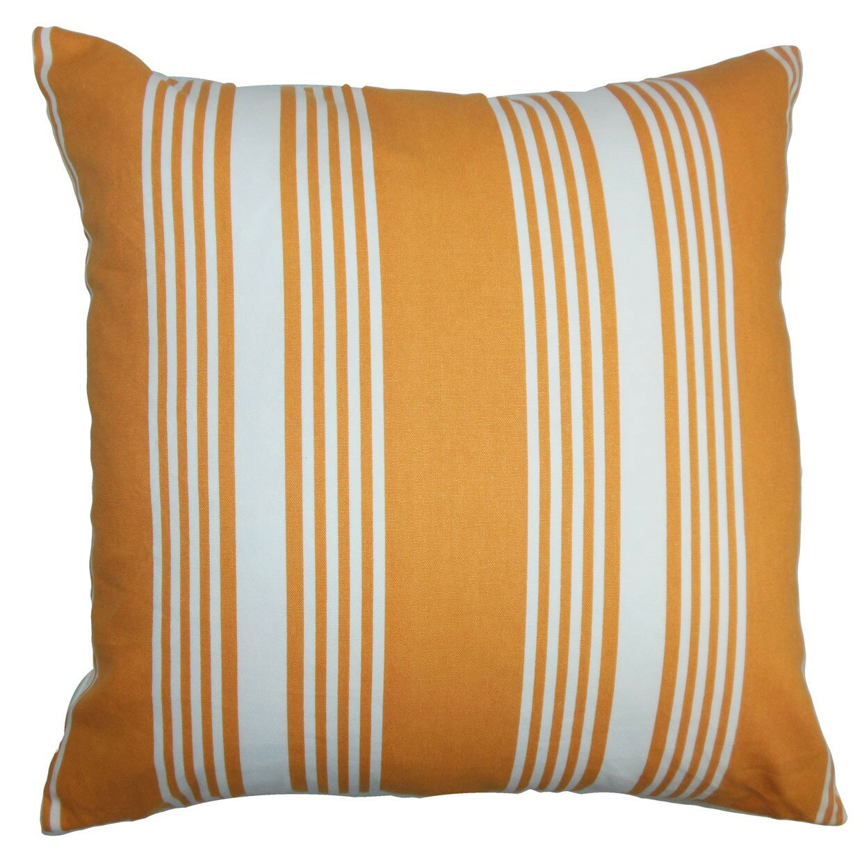 The Pillow Collection Perri Stripes Cotton Throw Pillow & Reviews Wayfair