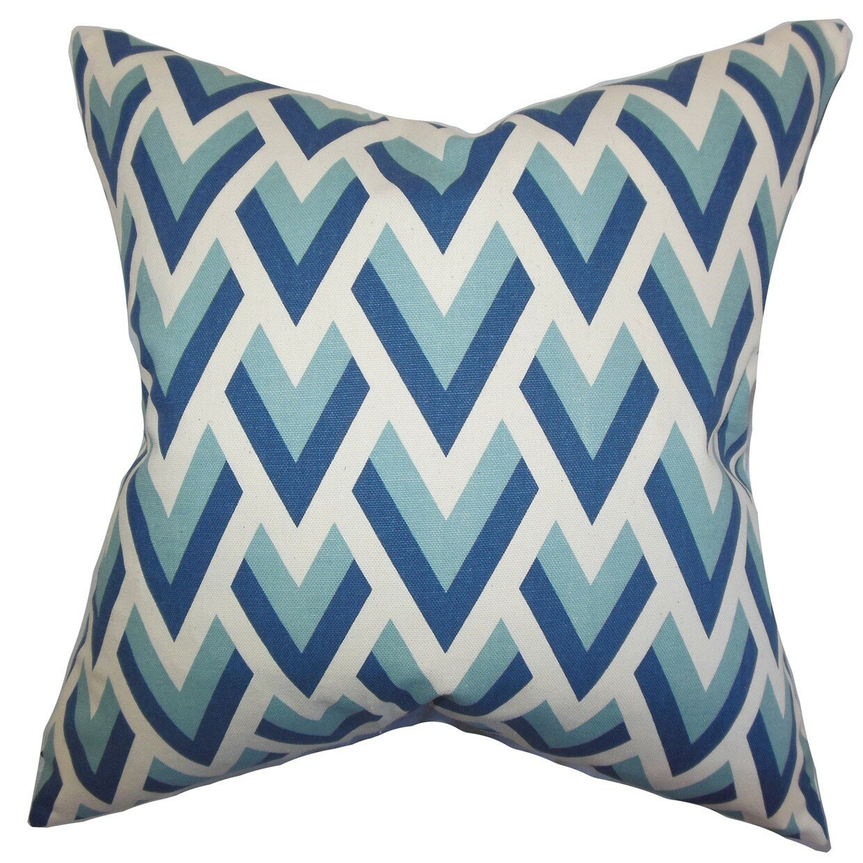 Throw Pillow Collections : The Pillow Collection Eleri Geometric Cotton Throw Pillow & Reviews Wayfair