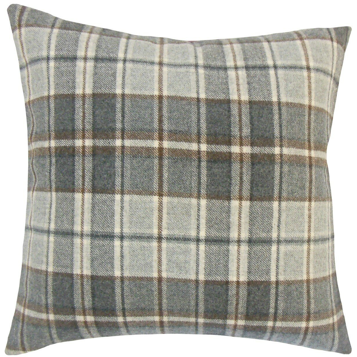 The Pillow Collection Irfan Plaid Wool Throw Pillow & Reviews Wayfair.ca