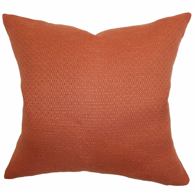 The Pillow Collection Iduna Plain Throw Pillow & Reviews Wayfair