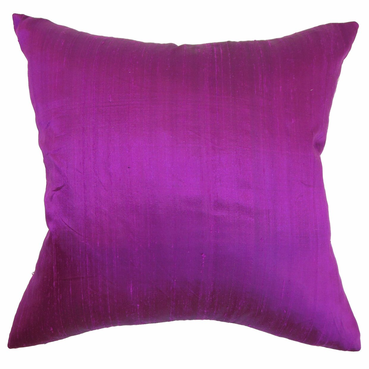 Purple Silk Throw Pillows : The Pillow Collection Ekati Plain Silk Throw Pillow & Reviews Wayfair