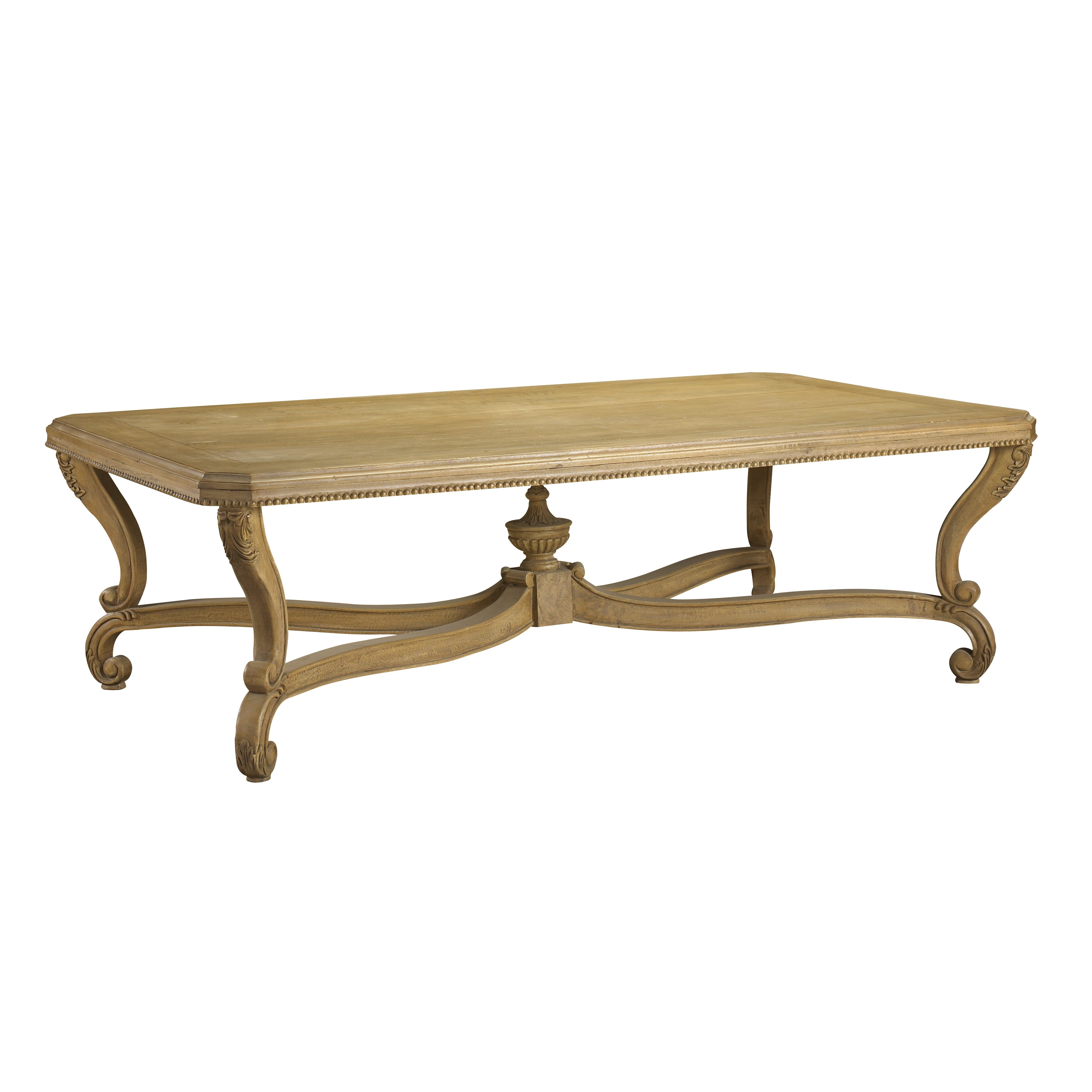 French Heritage Modernly Classic Coffee Table Wayfair