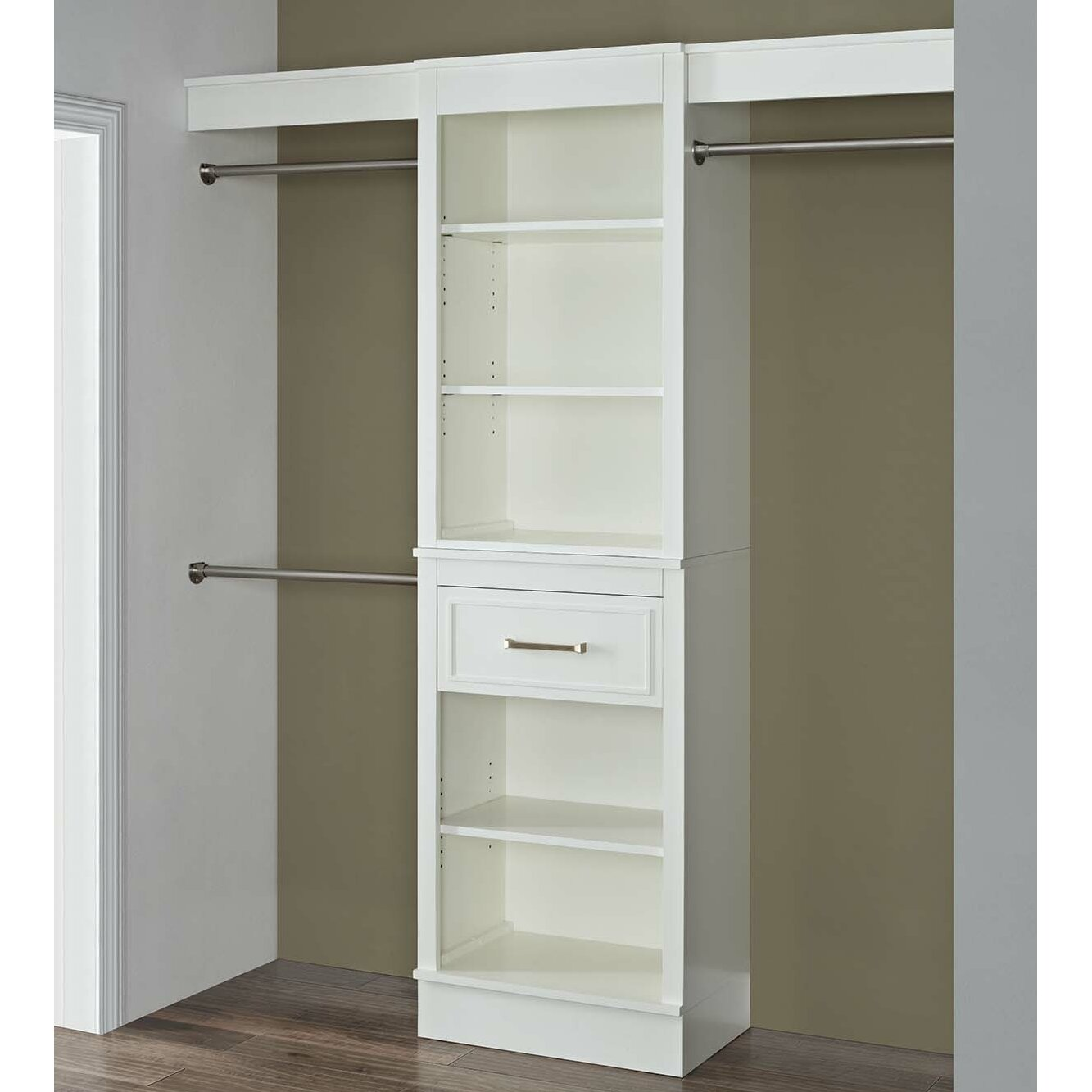 French Heritage 72 Quot W Closet System Amp Reviews Wayfair