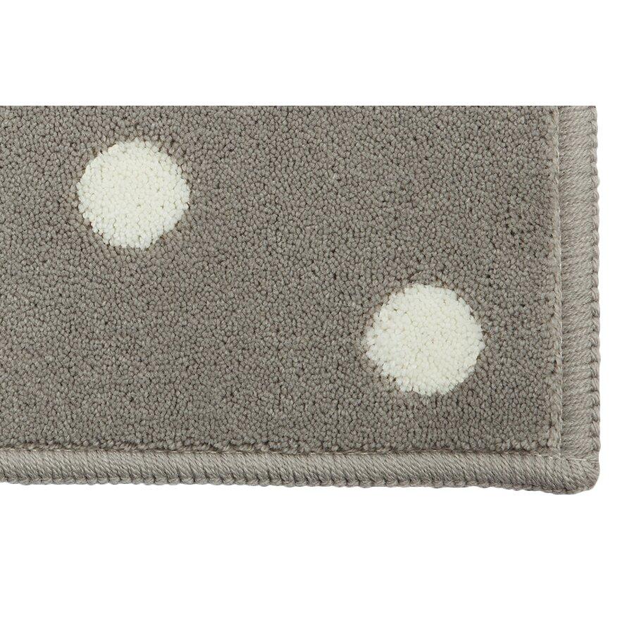 lorena canals teppich dots in grau. Black Bedroom Furniture Sets. Home Design Ideas