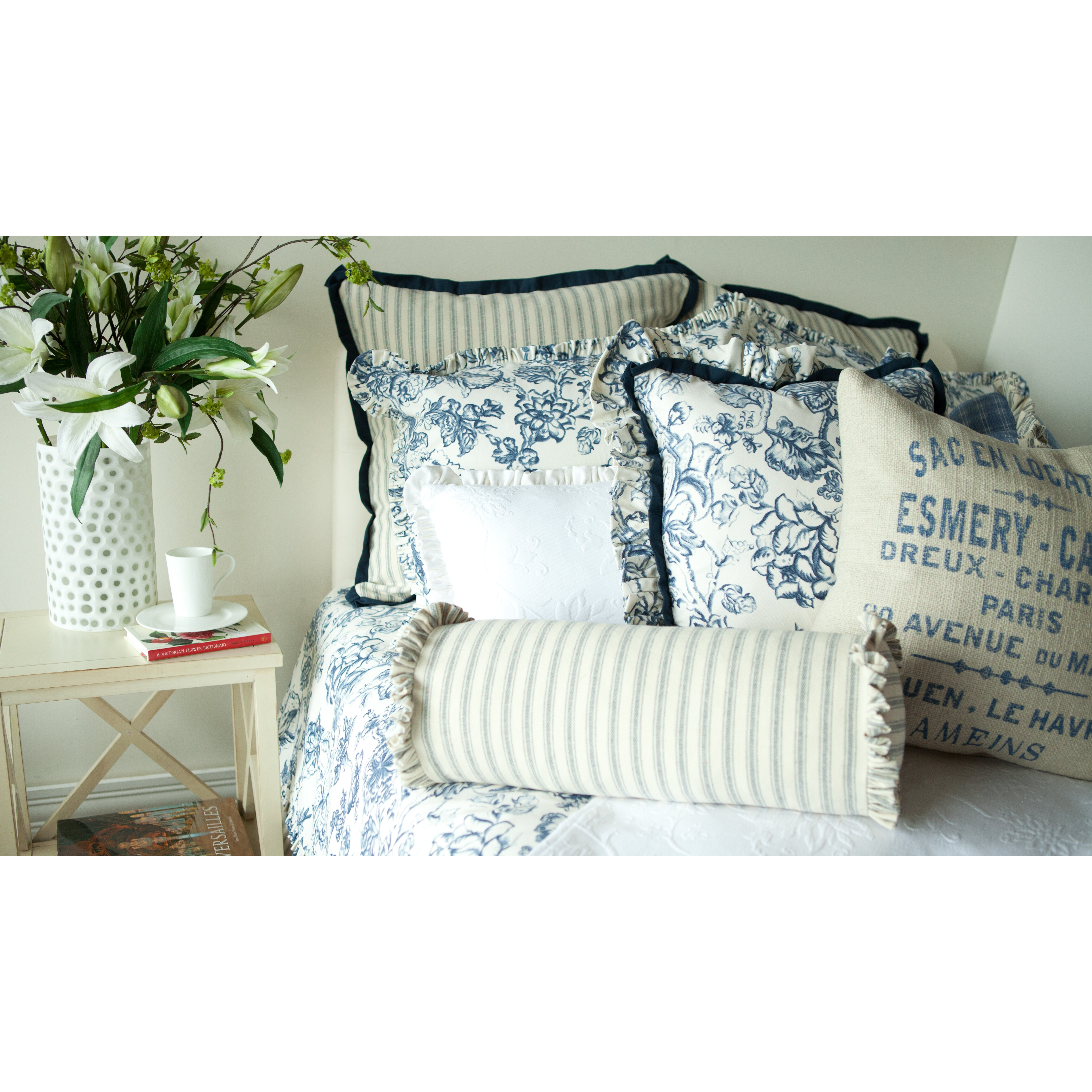 provence home collection hampton classic french words