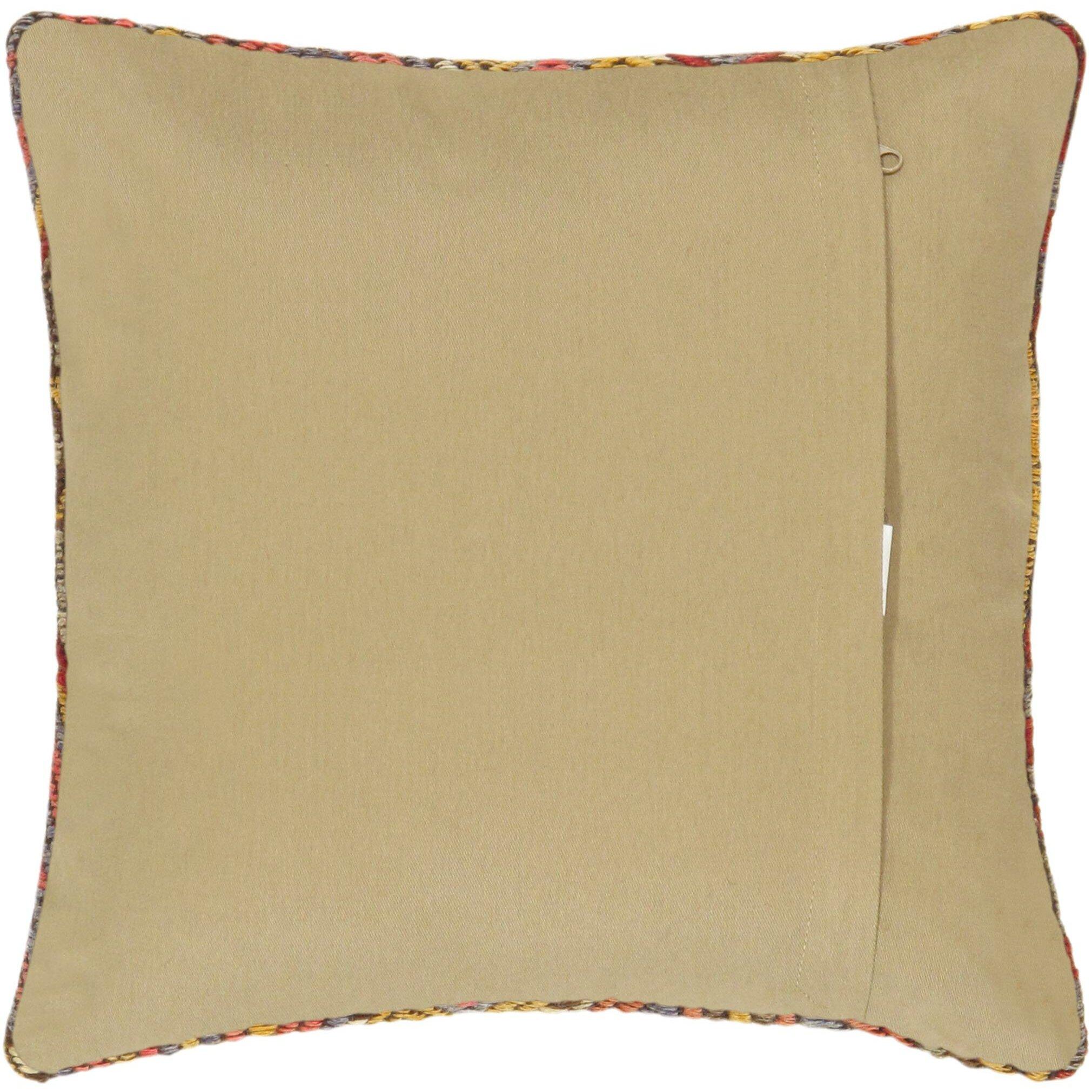 Pasargad Kilim Decorative Vintage Wool Throw Pillow Wayfair