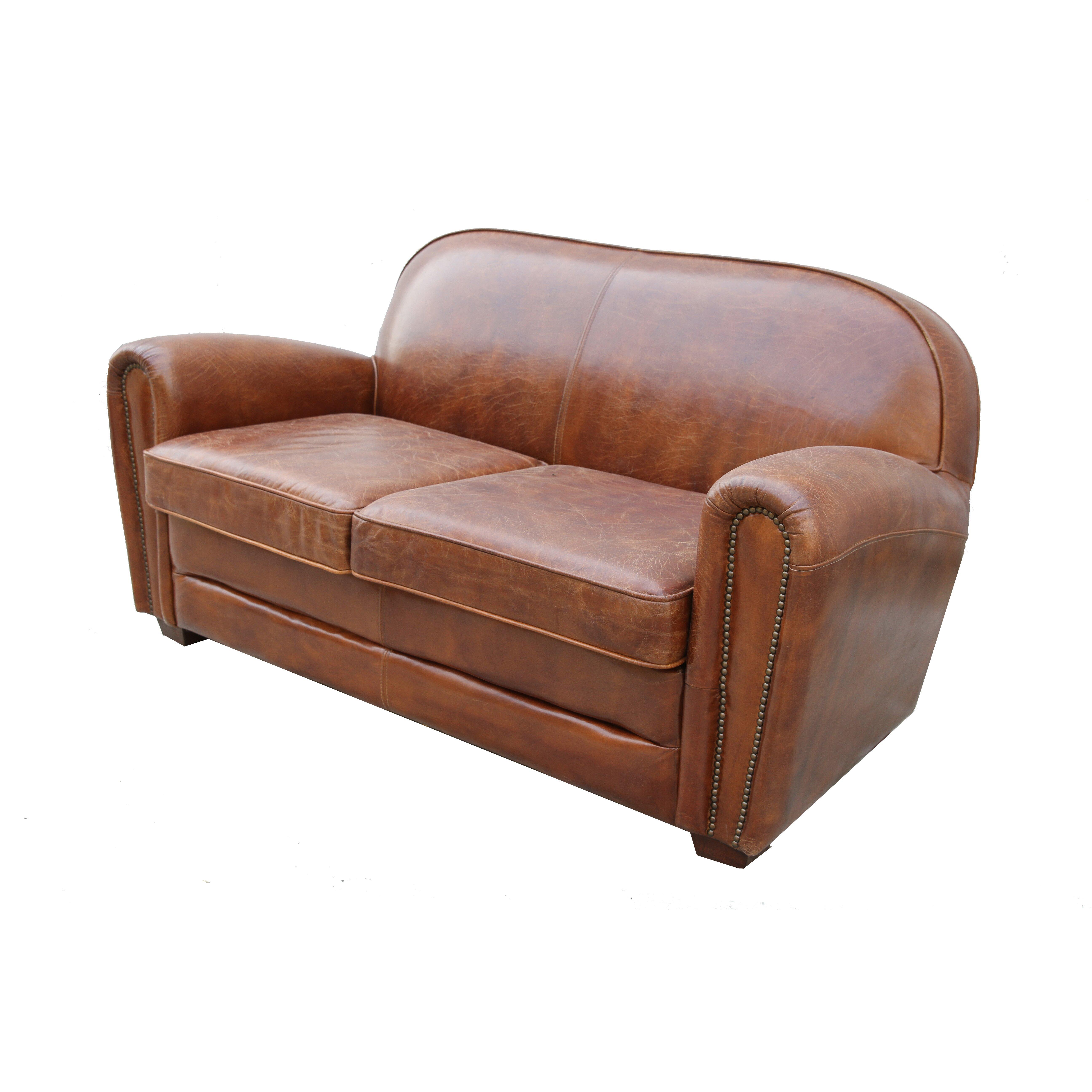 Pasargad Paris Club Genuine Leather Loveseat Reviews
