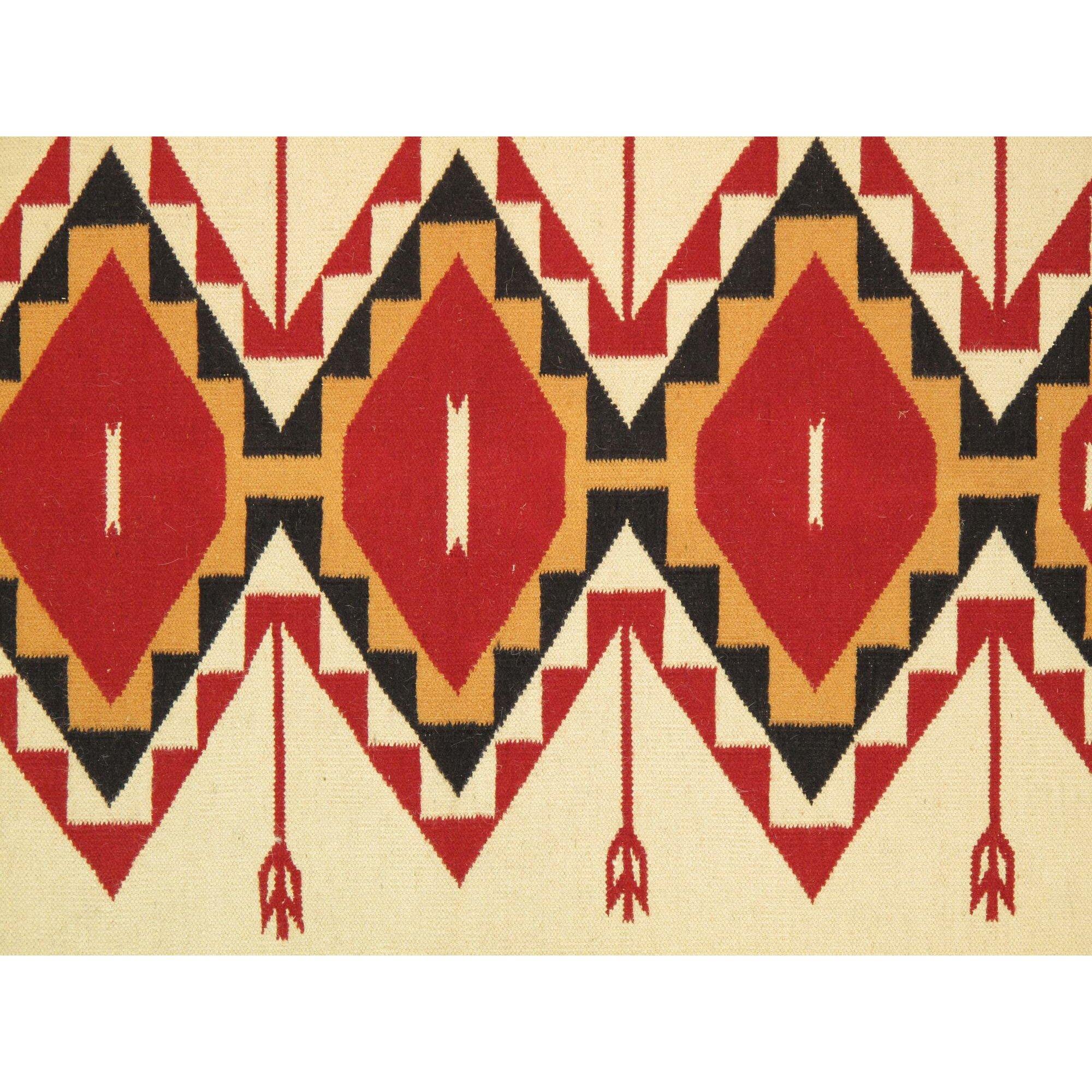 pasargad navajo woven area rug wayfair