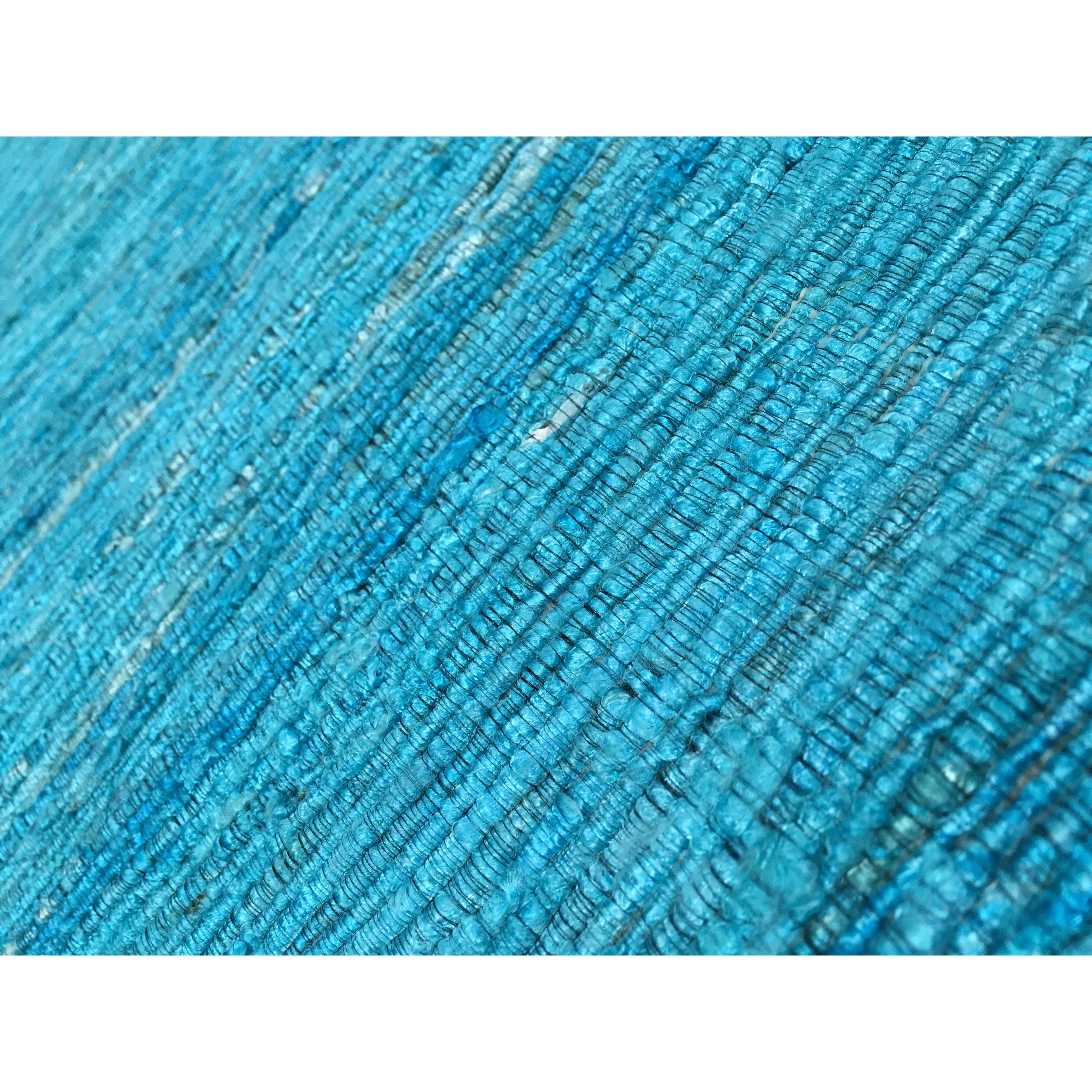 Pasargad Sari Silk Aqua Area Rug & Reviews