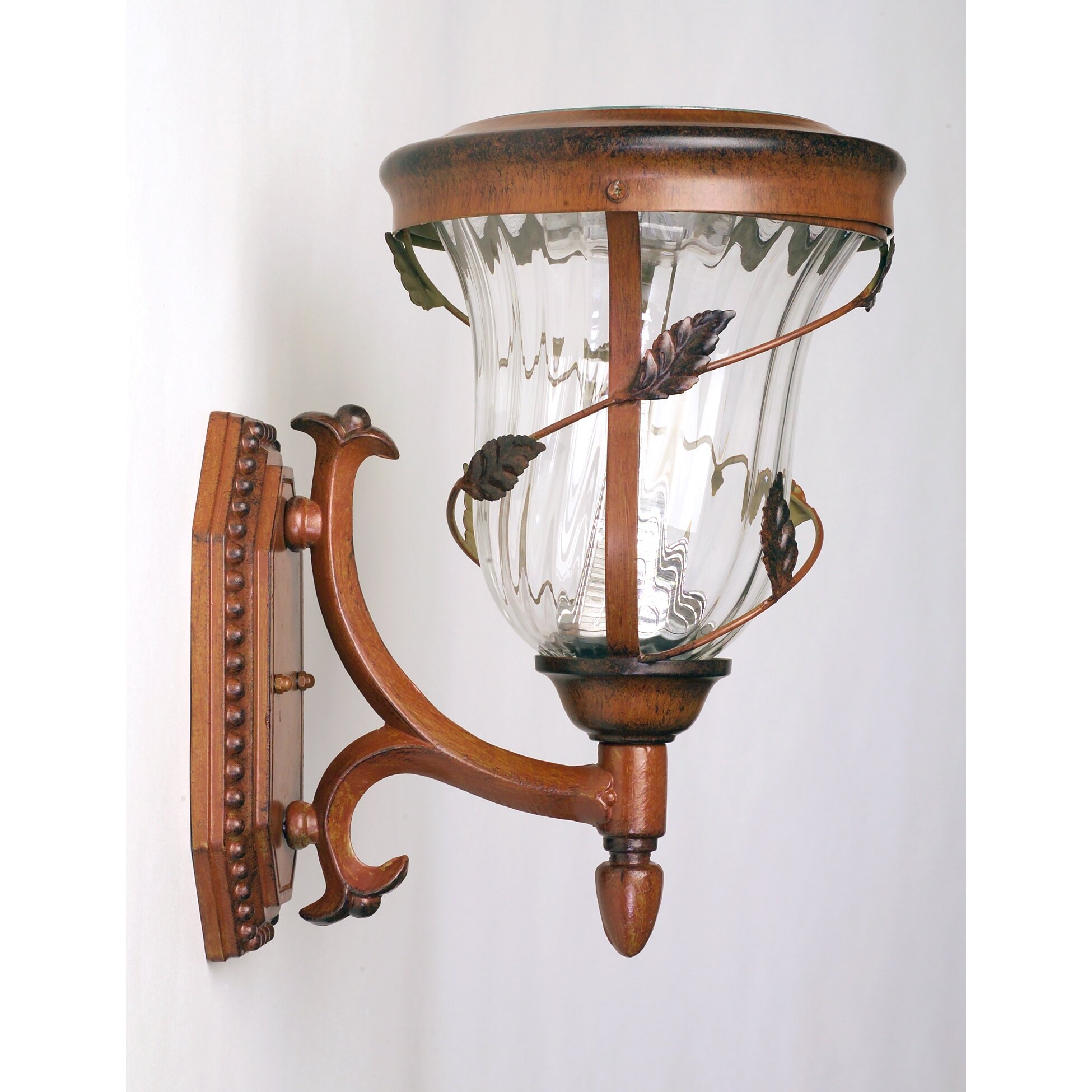 Gama Sonic Decorative 6 Light Outdoor Sconce & Reviews
