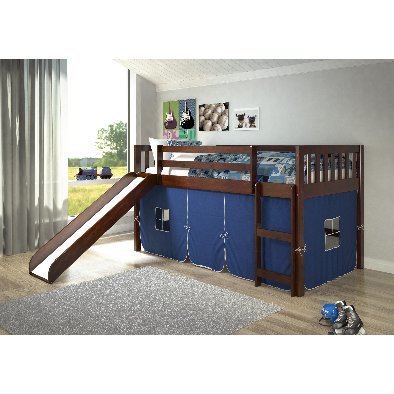 Donco Kids Mission Twin Low Loft Bed & Reviews