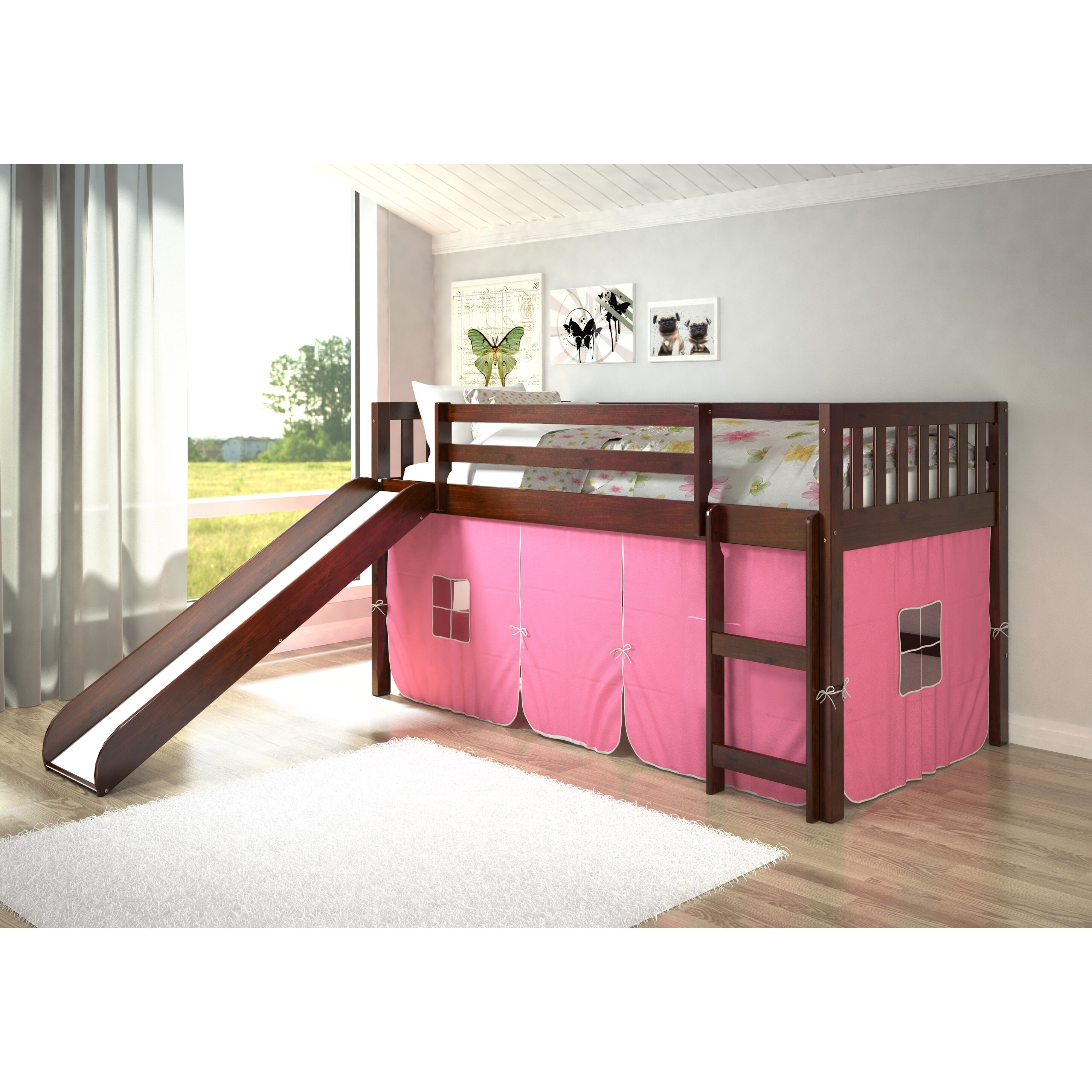 Donco Kids Mission Twin Low Loft Bed Reviews