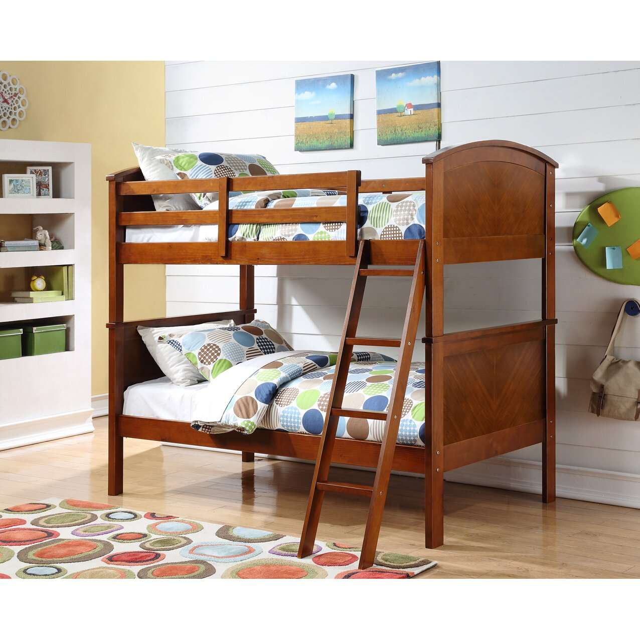 Donco Kids Twin Bunk Bed