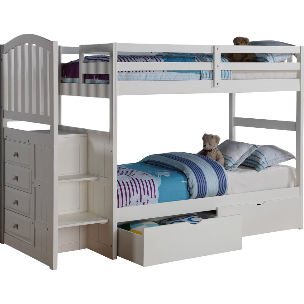 Donco Kids Donco Kids Twin Bunk Bed With Storage Reviews