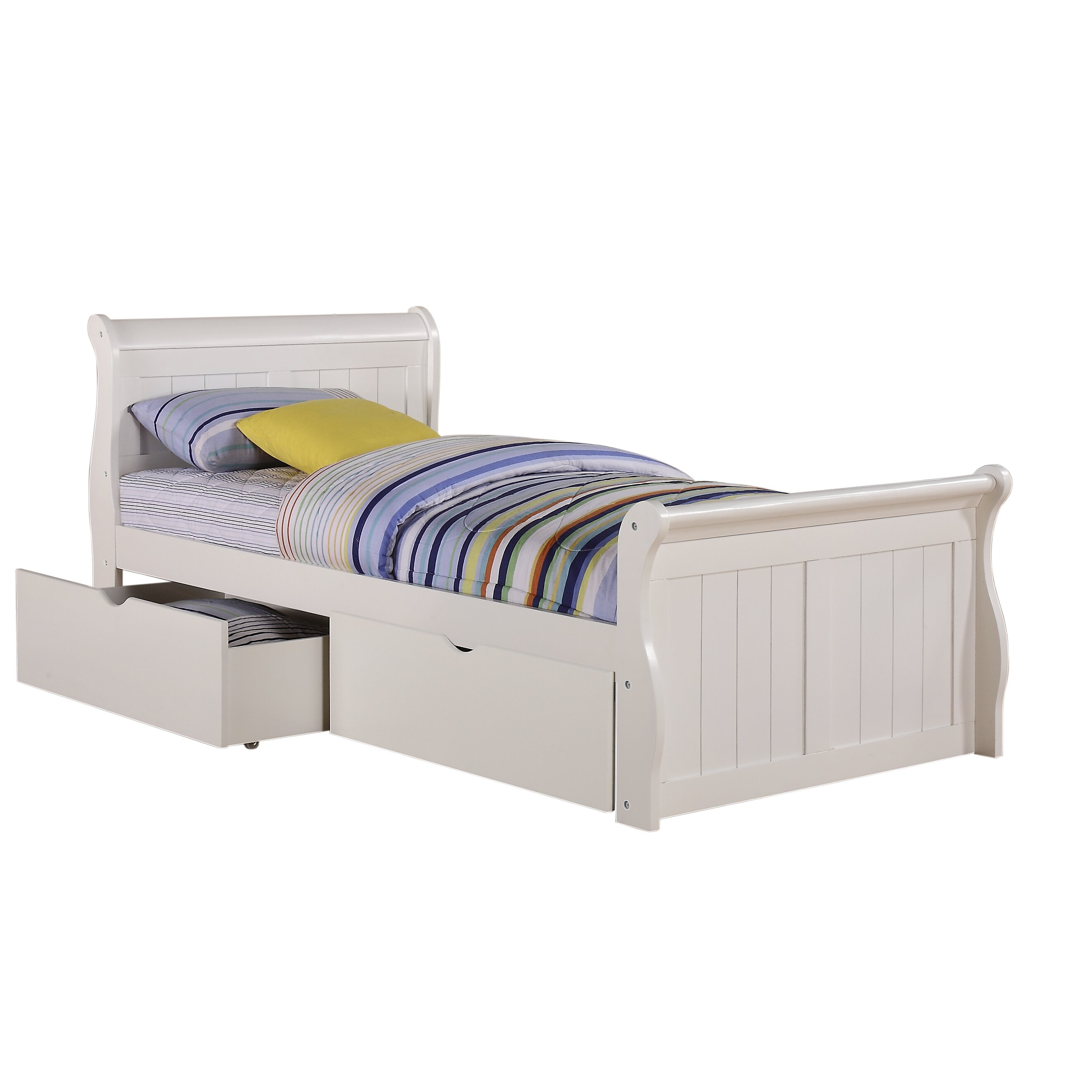 Donco Kids Sleigh Bed With