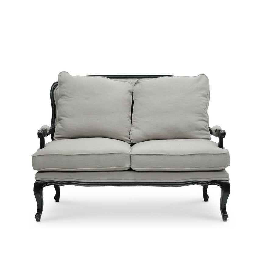 Wholesale interiors baxton studio antoinette classic for Classic loveseat