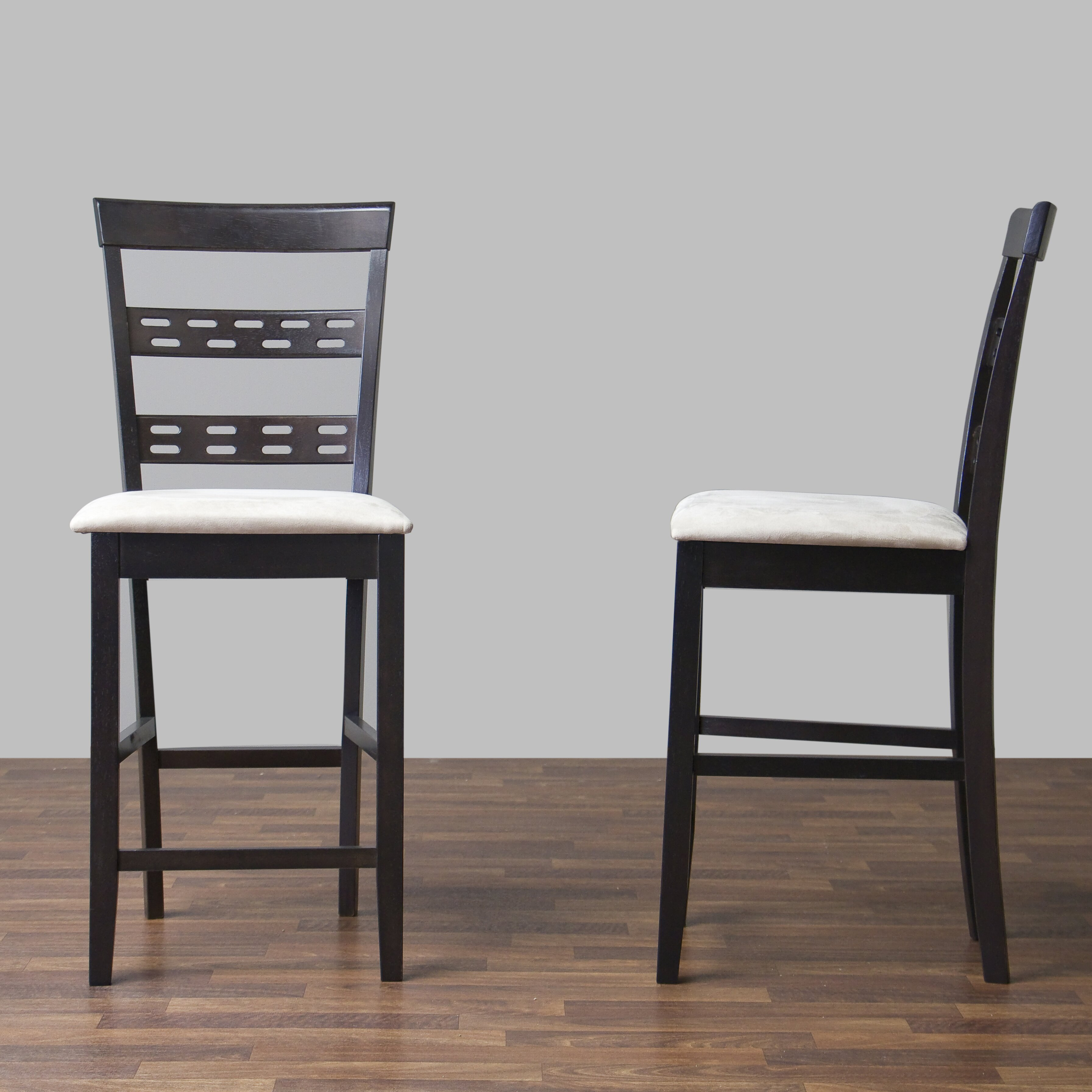 "Bar Furniture By Baxton Studios: Wholesale Interiors Baxton Studio 24"" Bar Stool & Reviews"