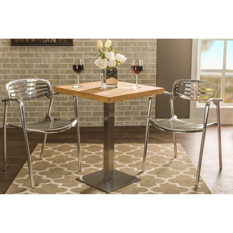 Wholesale interiors baxton studio owen dining table for Baxton studio