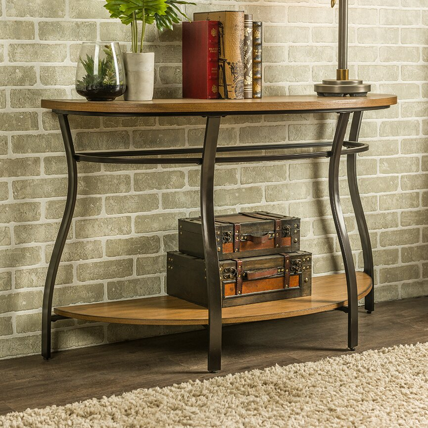 Wholesale Interiors Baxton Studio Newcastle Console Table  : Baxton2BStudio2BNewcastle2BWood2Band2BMetal2BConsole2BTable from www.wayfair.com size 865 x 865 jpeg 307kB