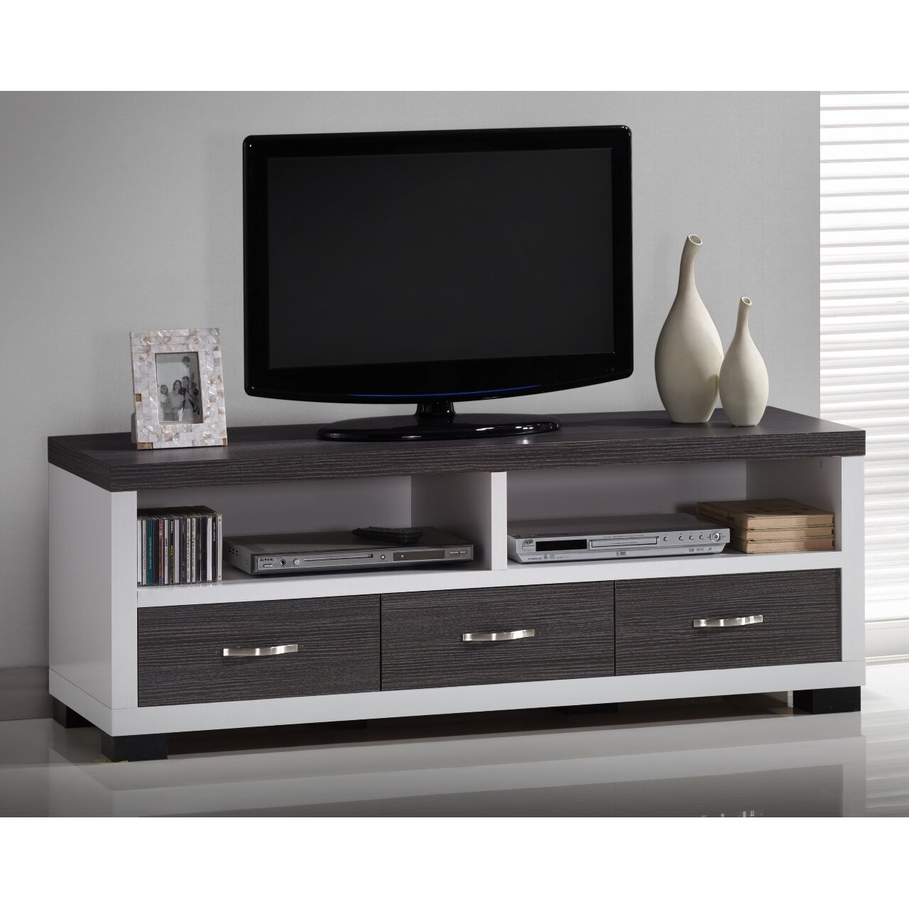 Wholesale Interiors Baxton Studio Tv Stand Amp Reviews Wayfair