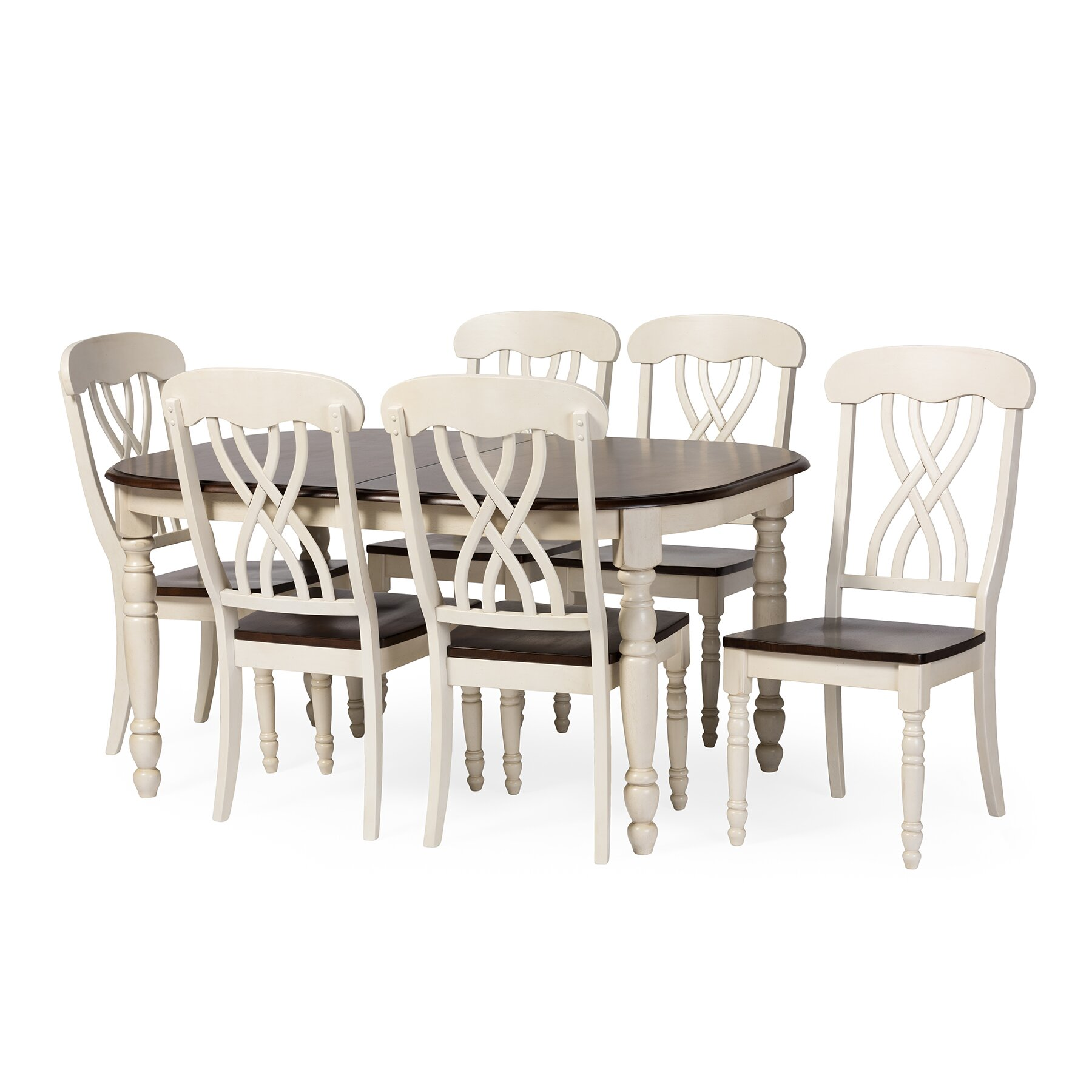 Wholesale Interiors Baxton Studio Newman 7 Piece Dining