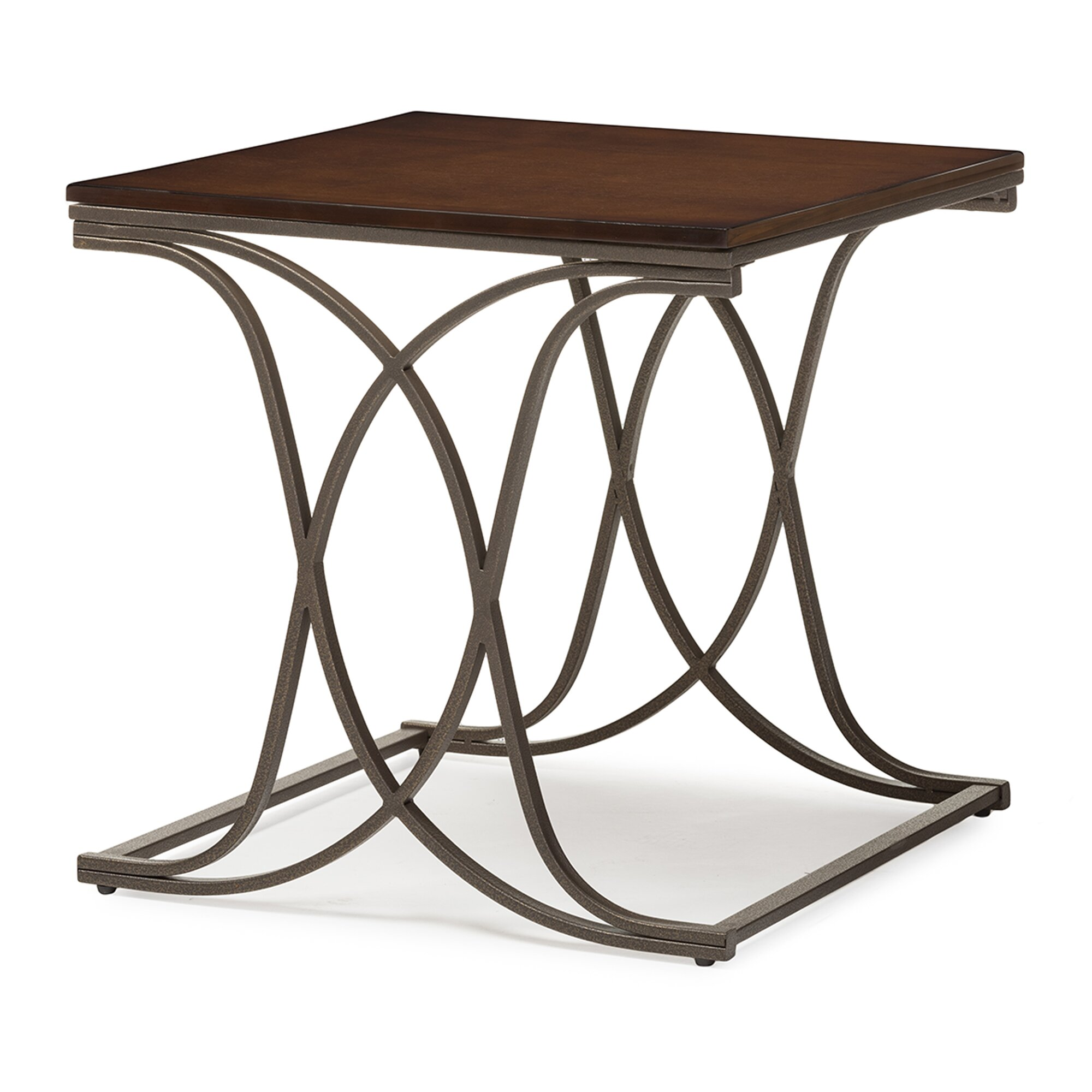 Antique occasional chair - Wholesale Interiors Baxton Studio Terrance 3 Piece Coffee Table Set