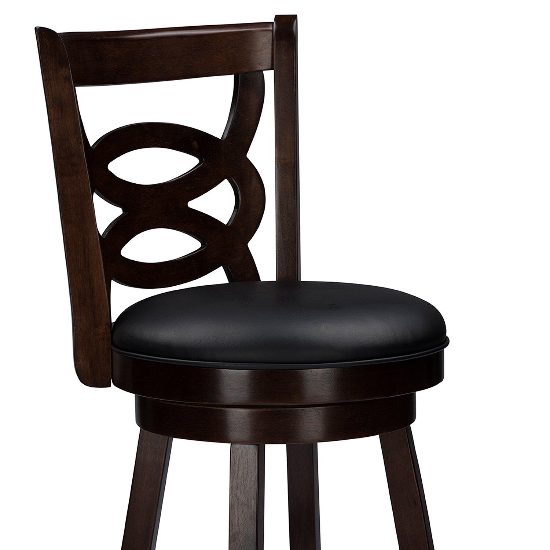 "Bar Furniture By Baxton Studios: Wholesale Interiors Baxton Studio 29"" Swivel Bar Stool"