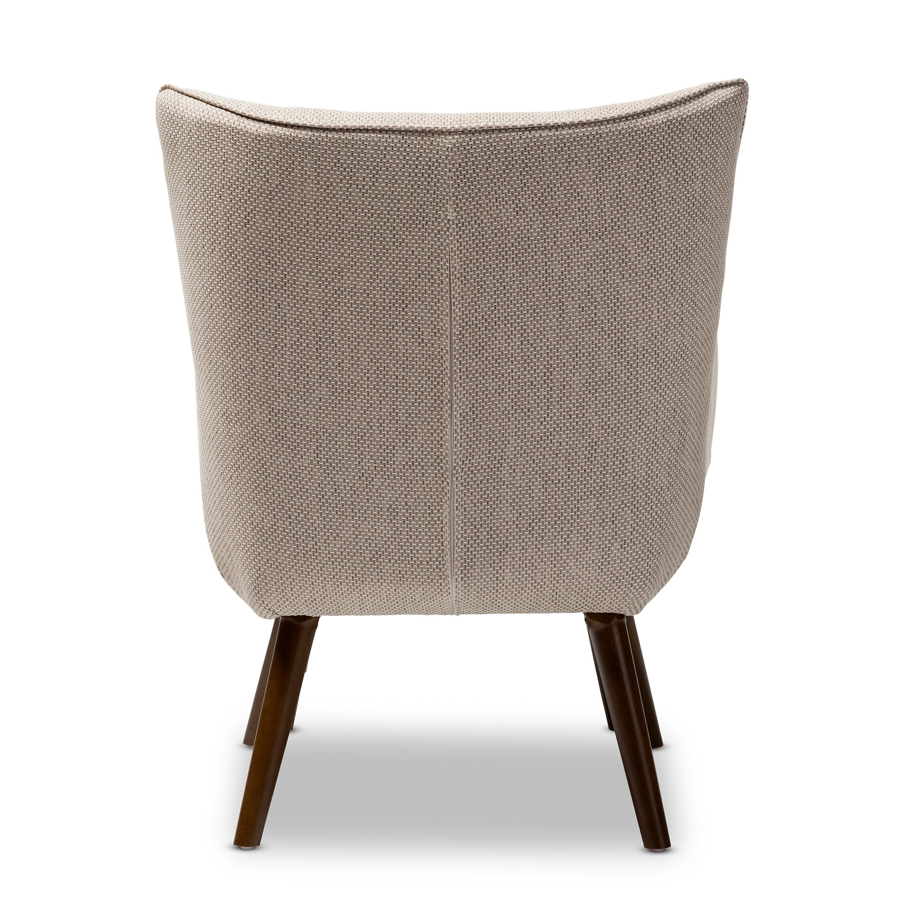 Wholesale interiors baxton studio elena armchair and for Armchair with ottoman