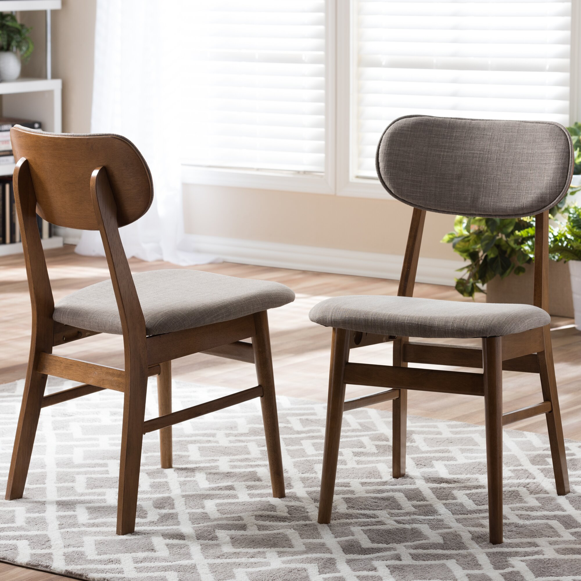 Cheap Wood Dining Chairs: Wholesale Interiors Baxton Studio Sacramento Side Chair