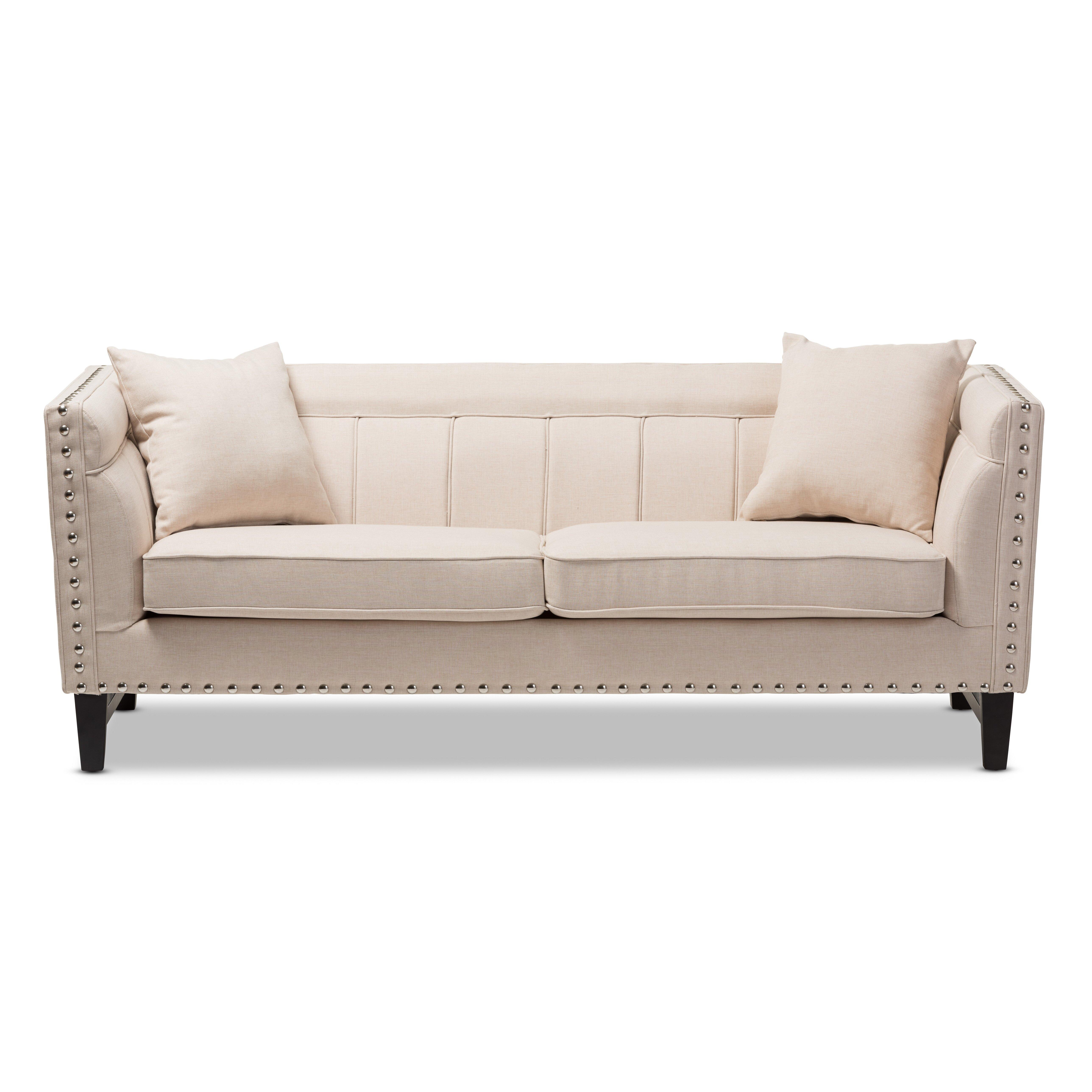 Wholesale Interiors Baxton Studio Stapleton Modern Sofa Reviews Wayfair