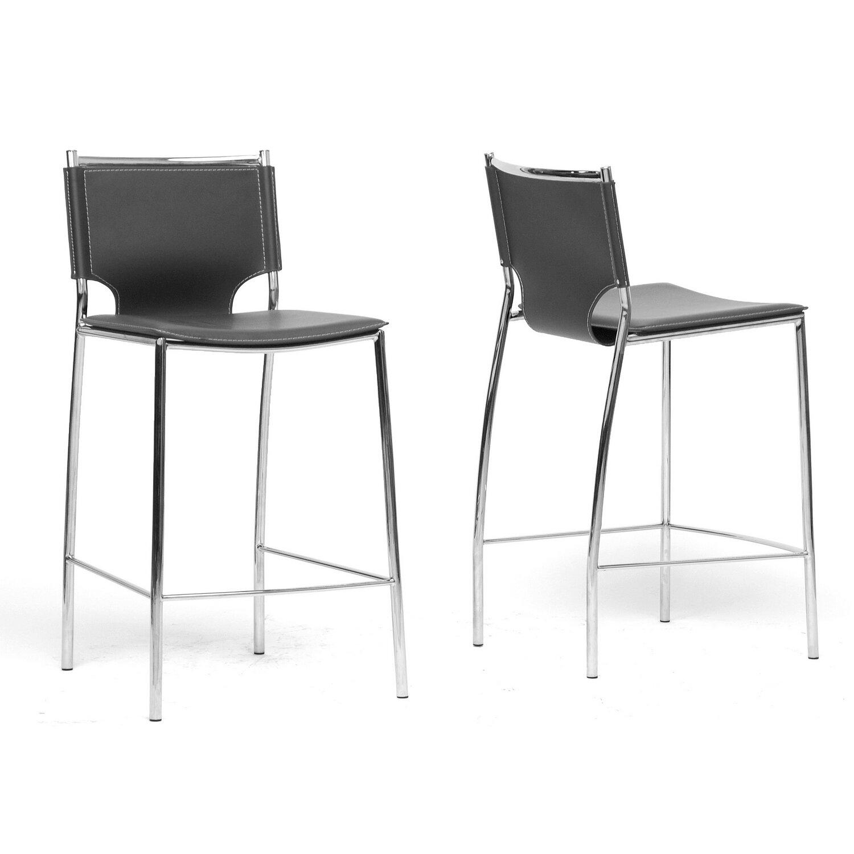 Wholesale interiors baxton studio 26 bar stool reviews for Baxton studio