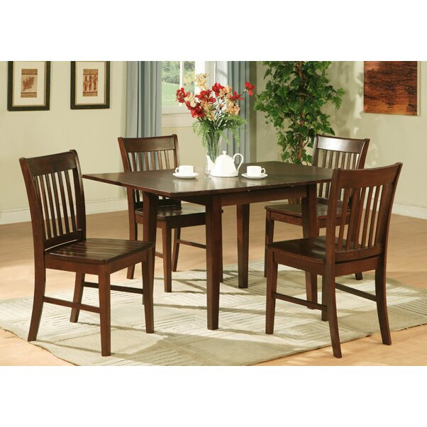 East West Norfolk 5 Piece Dining Set & Reviews