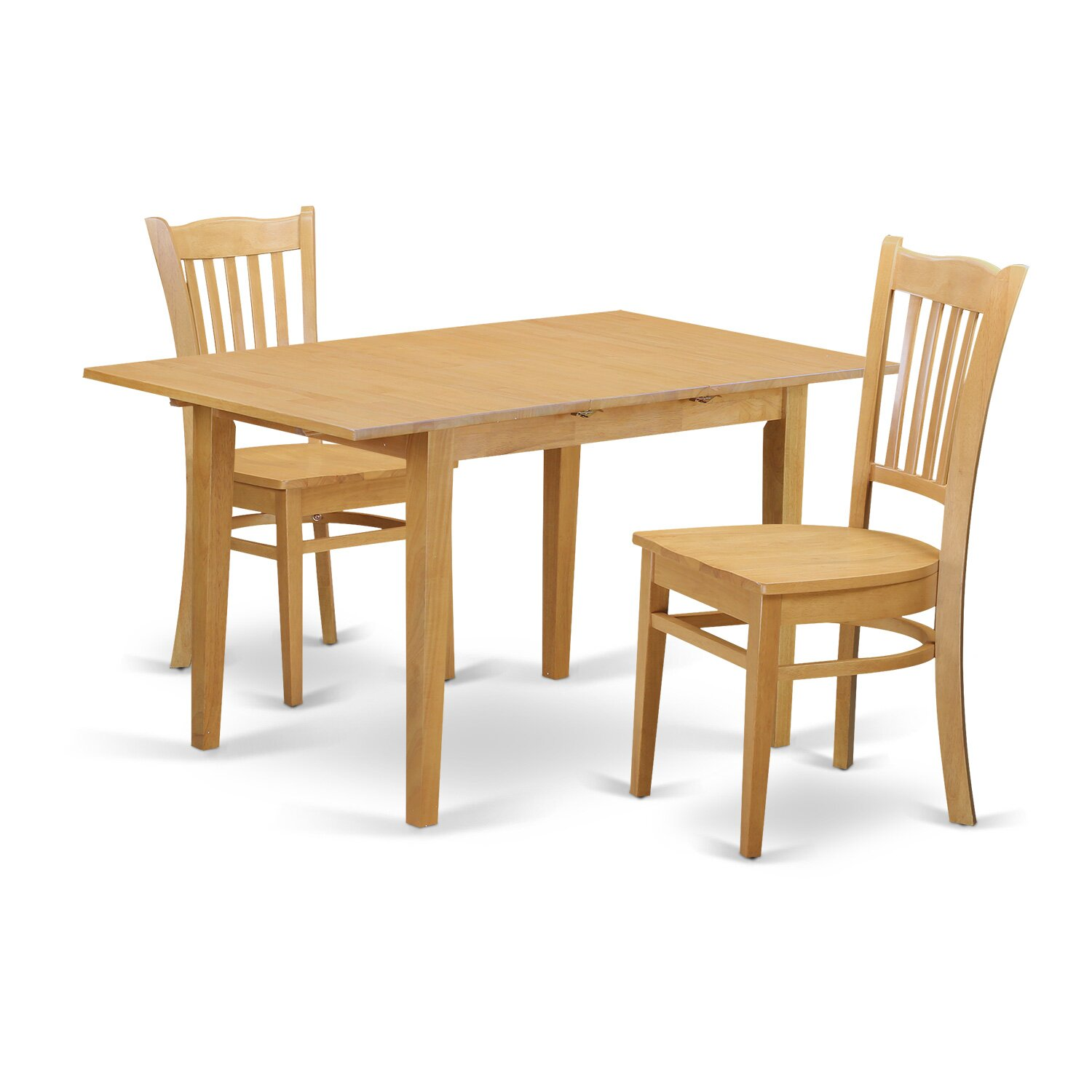 East West Norfolk 3 Piece Dining Set Wayfair