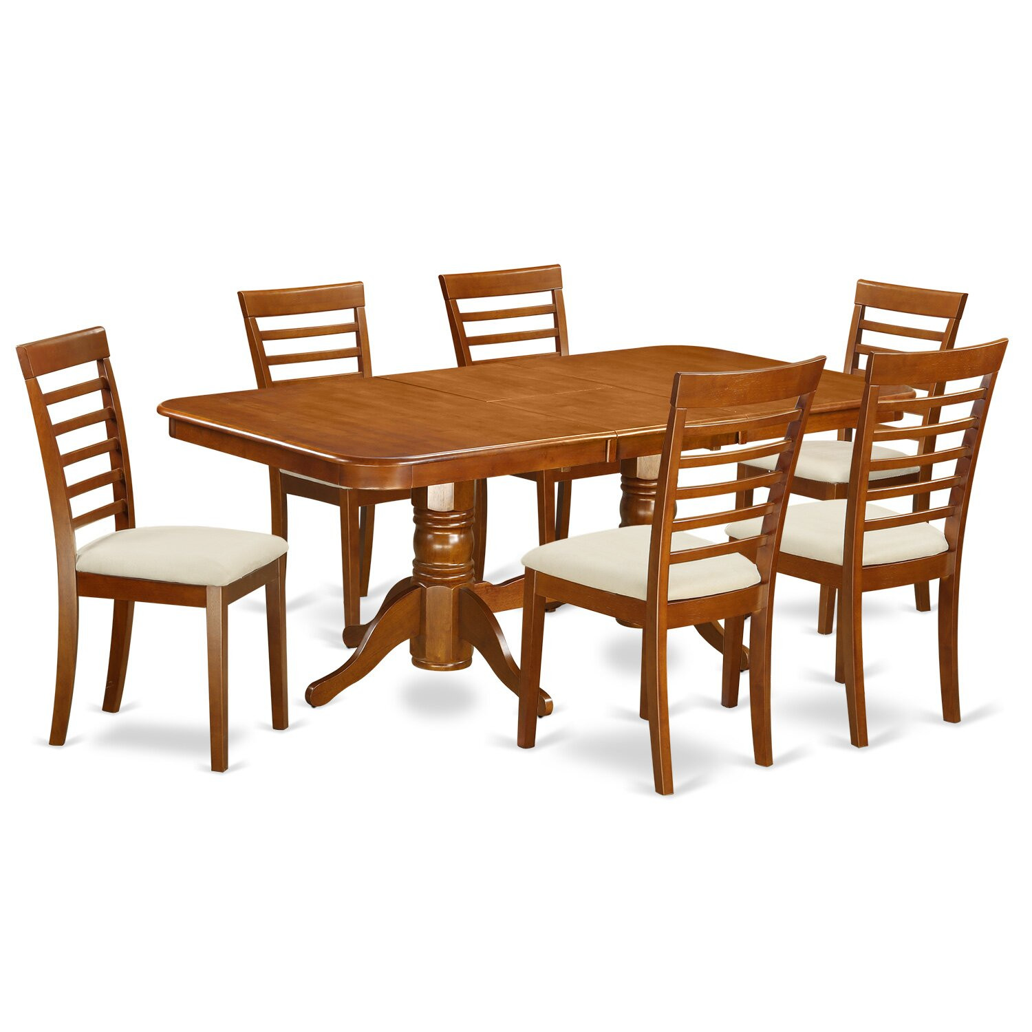 East west napoleon 7 piece dining set reviews wayfair for Furniture 7 reviews